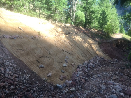 Finally, flood recovery starts in Rattlesnake Gulch - thanks WRV.